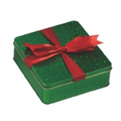 square gift tin packaging box