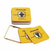 square Tin Coasters
