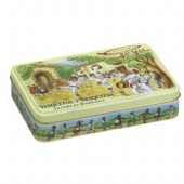 rectangular spice tin box