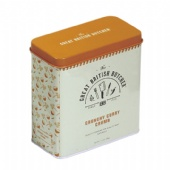 rectangular Spice Tin Box with Shaker Lid