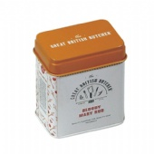 small rectangular Spice Tin Box with Shaker Lid