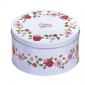 round Chocolate tin boxes