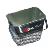 rectangular Popcorn tin bucket