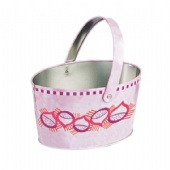 oval Popcorn tin bucket