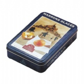 rectangular shaped Spice Tin Box
