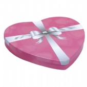 Heart Shaped Cookie Tin Box