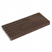 Rectangular Cookie Tin with Square Embossed lid