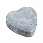 Heart Shaped Cookie Tin Packaging Box
