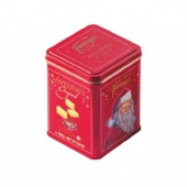 Custom Printed Small Rectangular Tin Box for Gift Mint Tea Biodegradable