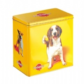 Pet Dog Food Metal Tin Container Custom Logo Printed First-grade Tinplate