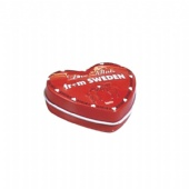 mini heart pill packaging tin box