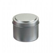 Metal Travel Candle Tin Box Custom Logo Containers For Candles