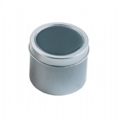 Candle Tin Cans Round Tin Can Packaging For Candles Ps Window On The Lid