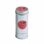 tall round pill packaging tin box