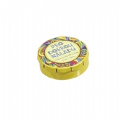 Customized Round Lipbalm Containers Color On Lid