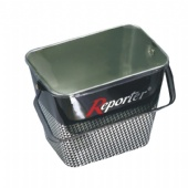 Rectangular Large Tin Ice Bucket Sign Metal Drinks Bucket