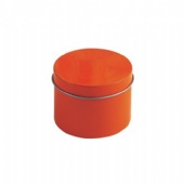 seamless round pill tin packaging box