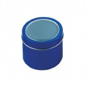 Blue Deep Round Tin Box