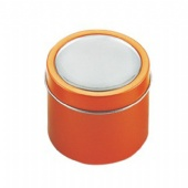 Yellow Deep Round Tin Cans