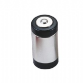 battery shaped pill tin box