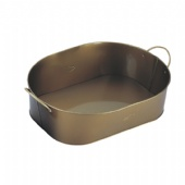 Sienna Top Lid & Wire Handle Tin oval Bucket
