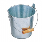 Steel tin Pails with handle