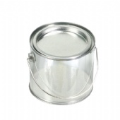 Round Wire Handle Container