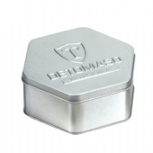 hexagon popcorn tin box
