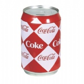 coca cola coin tin box for popcorn packaging