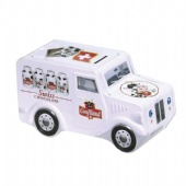 car shaped popcorn tin box