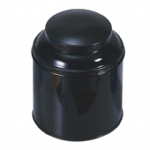domed lid round popcorn tin box