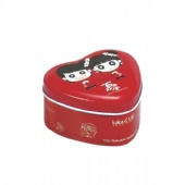 heart mint tin box