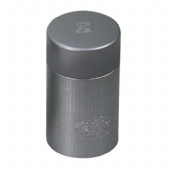 round cigarette tin box with double lid