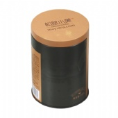 round cigarette tin box with pillow lid