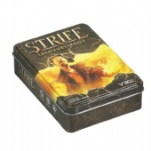 rectangular shaped cigarette tin box