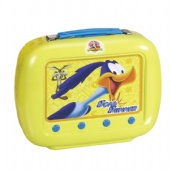 TV shaped lunch tin box