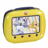 vivid TV shaped lunch tin