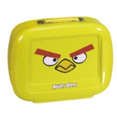 TV shaped lunch tin box with vivid embossing