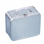 plain tin lunch box