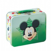 tin lunch box with lock