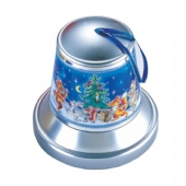 bell shaped tin chocolate box